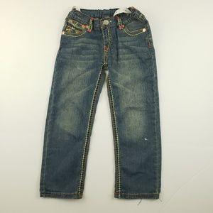 True religion boys design pocket Jean's size 7/8